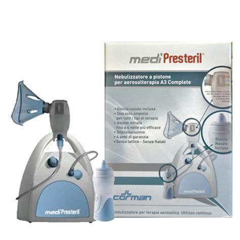 aerosol con doccia nasale farmacia san medipresteril a3 aerosol con