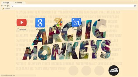 theme google chrome arctic monkeys arctic monkeys theme google chrome phxani by phxani on
