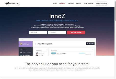 free bootstrap templates for it company gettemplate free html5 css3 bootstrap templates