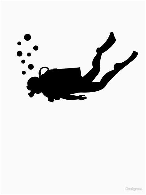 Scuba diver bubbles | Unisex T-Shirt | diveshark
