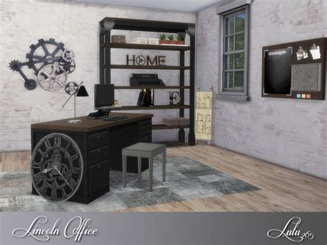 lincoln office furniture lincoln office by lulu265 at tsr 187 sims 4 updates
