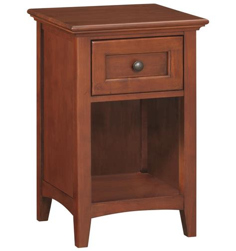 18 Inch Nightstand 18 Inch 1 Drawer Nightstand Simply Woods Furniture Opelika Al
