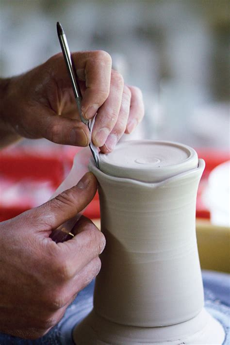 Pdf Mastering Potters Wheel Techniques Tricks by An Interesting Pottery Trimming Technique For Sweet