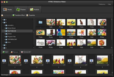 free download full version photo slideshow software top 5 html5 animation tools