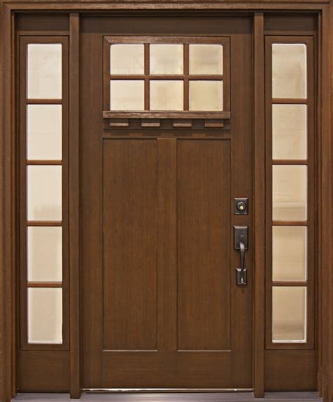 Mission Style Entry Doors Connecticut American Craftsman Exterior Doors