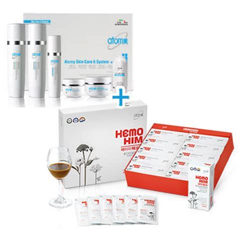 Atomy A C Care Special Set made with ingredients extracted from plants in