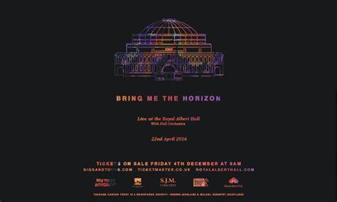 Topi Bring Me The Horizon Play Limited 1 bring me the horizon to play the royal albert