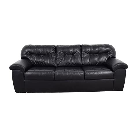 blue leather tufted sofa black leather tufted sofa chesterfield leather sofa