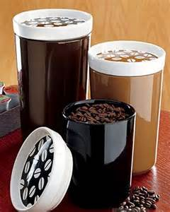 Coffee Themed Kitchen Canisters by Coffee Theme Canisters Images