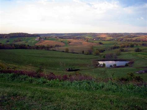 Colorado Vacation Rentals by Countryside In Jo Daviess County At Dusk Picture Of