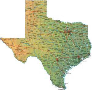 State Tx Printable Map Of State Maps Of State Maps Free