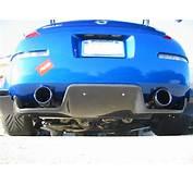 Top Secret Carbon Fiber Rear Diffuser 350Z
