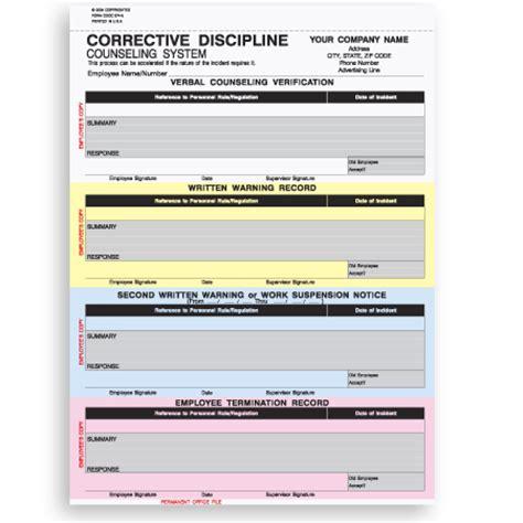 CDCC 374 Snap A Part Corrective Discipline Form