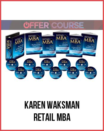 Retail Mba Syllabus by Waksman Retail Mba For Free