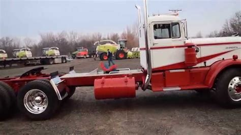 old kenworth old kenworth 521 restored sold at ritchie brothers