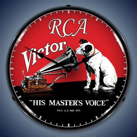 rca victor custom lighted advertising clocks backlit clocks american made products