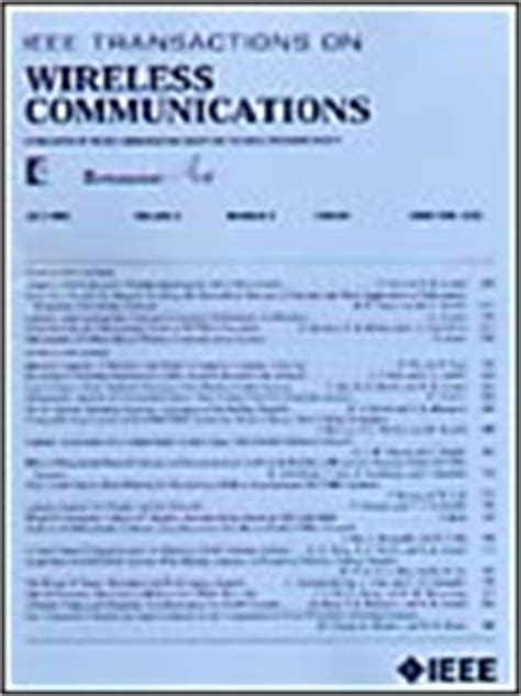 ieee research paper on wireless communication ieee xplore ieee wireless communications popular
