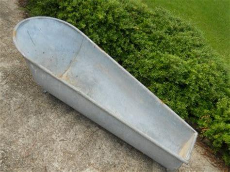 vintage galvanized bathtub antique coffin bath tub antique metal vintage cowboy style galvanized