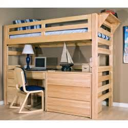 Bedroom twin loft bed with desk wooden loft bed with desk for children