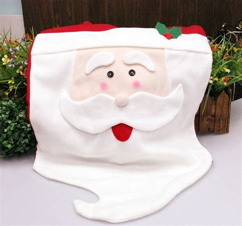 Mrs Santa Claus Chair Covers chair cover with mrs santa claus for dinner