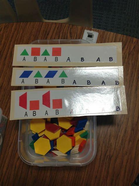 teaching pattern activities 17 best ideas about patterning kindergarten on pinterest