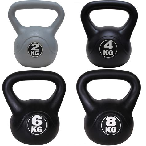 Kettlebell 30kg Kettel Bell Dumbell Dumble Barbel 2 4 6 8kg kettlebells weight kettle dumbbells home exercise ebay