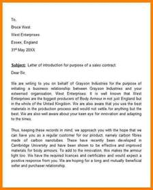 Introduction Letter Event Company 4 Sle Company Introduction Letter For Business