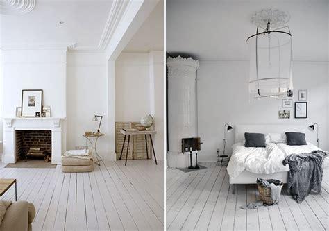 chambre sol blanc