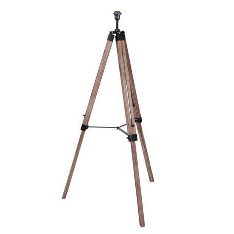 industrial tripod floor l industrial wood tripod floor l base by quirk
