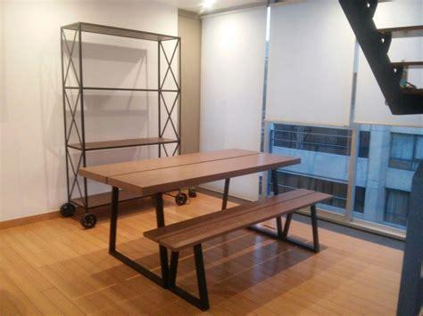 mobiliario estilo industrial mesa comedor diseo exclusivo