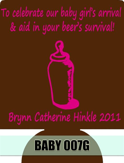 Baby Shower Koozies by Discover And Save Creative Ideas