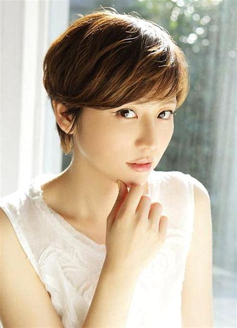 japan hairstyle for round face 20 best ideas of short hairstyles for asian round face