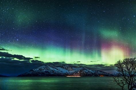 Northern Lights Landscaping Alaska Northern Lights Wallpaper Wallpapersafari