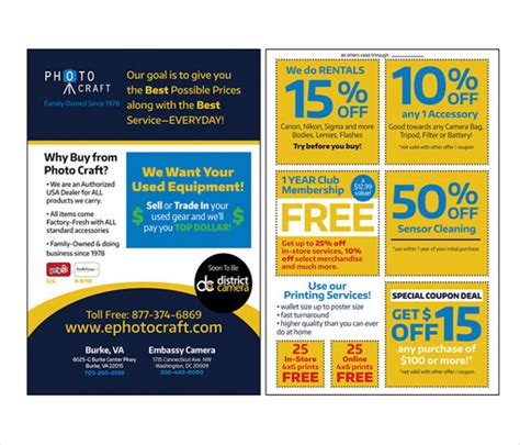 free templates for flyers with coupons 21 coupon flyer templates free sle exle format