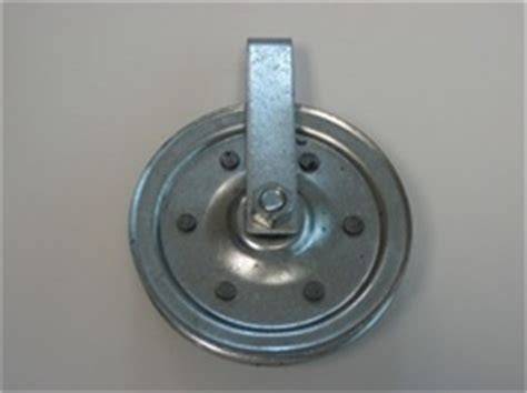Garage Door Cable Came Pulley by 3 Quot Cable Clevis Pulley Wheel For Extension Springs Garage