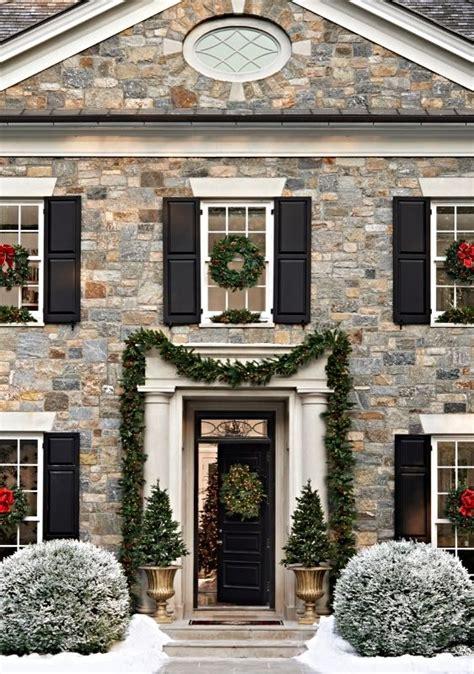 classic christmas house lights deck the halls decor inspiration hepfer designs