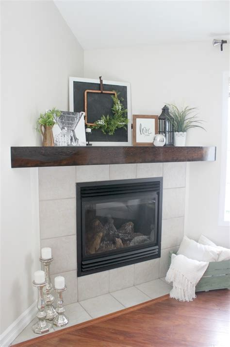 Build Your Own Fireplace Mantel by The Easiest And Cheapest Fireplace Makeover Create