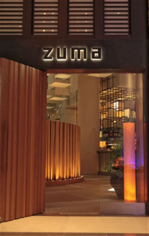 Private Room Dining Nyc zuma miami welcome