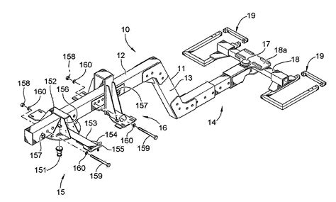 tow truck parts diagram patent us8267419 extended forward tow saddlemount single