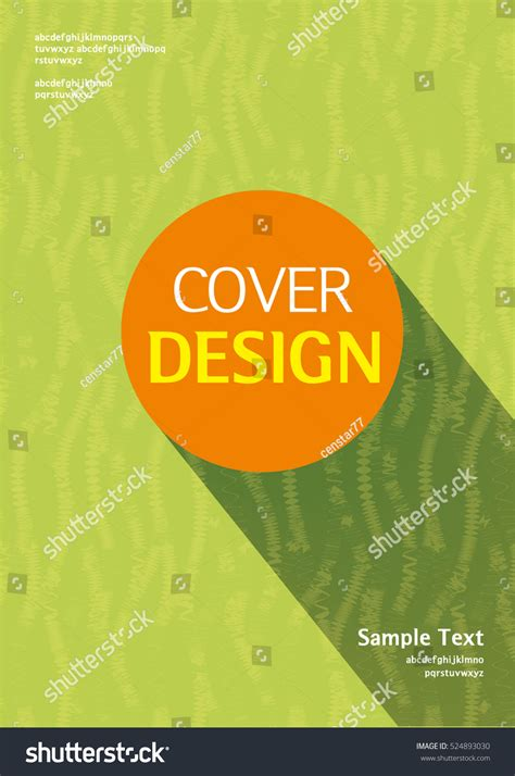 book cover layout vector book cover design stock vector 524893030 shutterstock