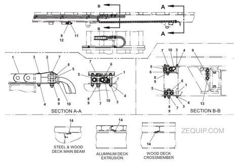 tow truck parts diagram kit 21 std duty bic hose trac