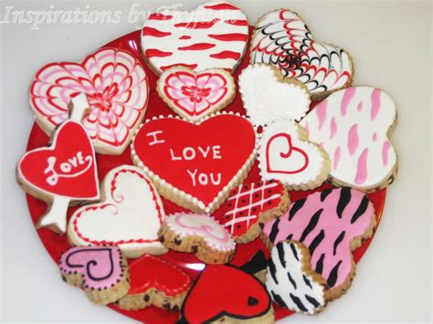 valentines day cookies inspirations by thyjuan llc s day cookies
