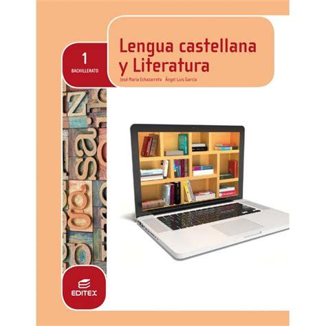 lengua castellana y literatura 8468015776 libro de lengua castellana y literatura 1 eso santillana pdf gn