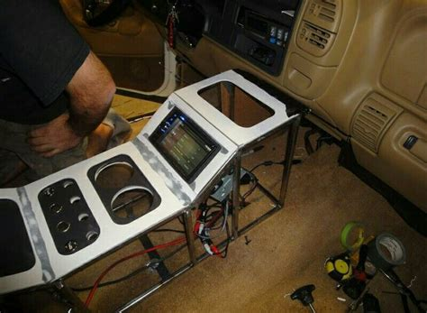 jeep custom console tableros asientos de autos pinterest center console