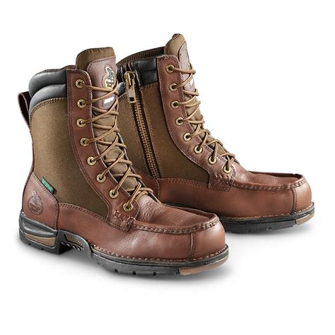 athens waterproof work boots brown 621587 work