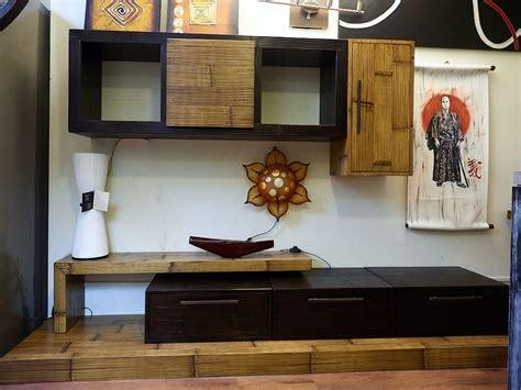soggiorni moderni in offerta soggiorno etnico moderno essential legno e bambu in