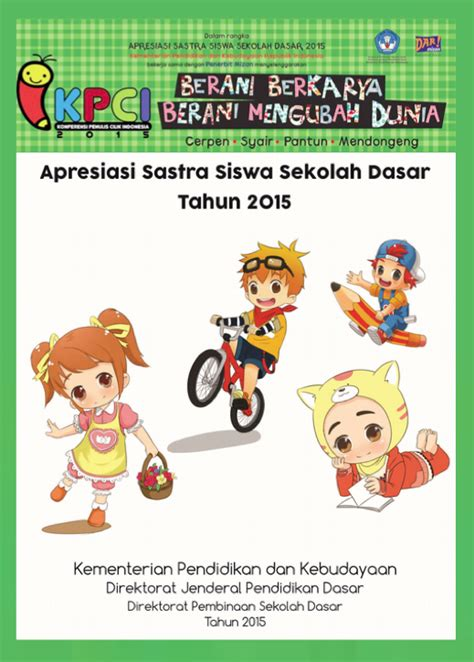 Kpci Amazing Anak Karya Penulis Cilik Indonesia apresiasi sastra siswa sekolah dasar dan konferensi