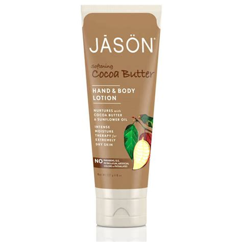 tattoo lotion cocoa butter jason softening cocoa butter hand and body lotion 237ml