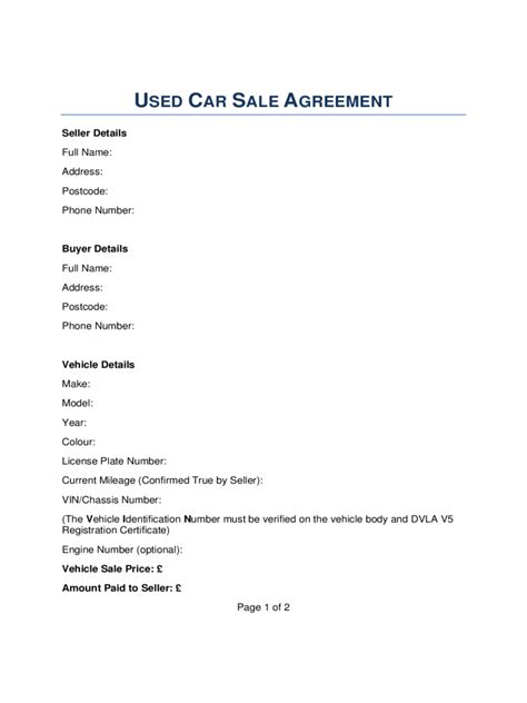29 images of rv sale receipt template infovia net