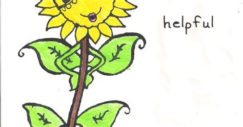 sunny petal coloring page sunny petal friendly and helpful girl scouting
